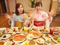 ワァ--凄ーい-こんなの初めて~!仙台名物牛タンやズワイガニさらに旬のスペシャルメニューが食べ放題♪