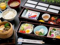 【朝食一例】一日の元気の源!美味しい豊田のお米をたくさんどうぞ♪