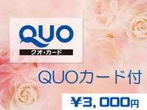 【出張応援得々プラン】QUOカード3,000円分+VODカード付きのお得なプランです♪
