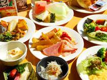 *【朝食(一例)】お好きなお料理をお好きなだけ♪