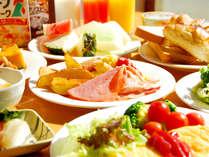 *【朝食(一例)】朝からたくさん食べて、元気いっぱい★