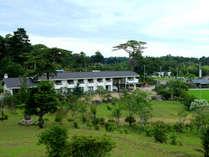 蘇峰園と名付けられた日本庭園