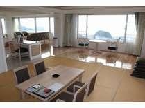 西館和洋室特別室10階角部屋禁煙(一例)