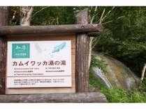 【知床八景】カムイワッカ湯の滝(通行できる期間は限られています)