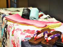 【夏休み限定】色浴衣で街歩き♪女性に色浴衣レンタル無料特典プラン●夕食:烏賊×佐賀牛