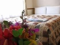 ダブルルーム◆広さ12平米/ベッド幅160cm