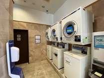 ランドリー洗剤の販売機もございます。長期滞在に便利♪