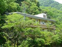 自然豊かな公共の宿