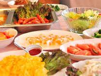 約30品大好評和洋バイキング朝食も大人気☆各種ご夕食もお承ります。