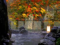 ■もみじの湯・やしおの湯■~紅葉に彩られた風景にときを忘れ、憩いのひととき♪~