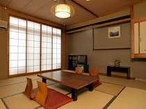 【部屋】落ち着いた和のたたずまいの客室で、ゆっくりとお寛ぎ下さい/部屋一例