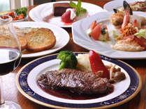 *豪華食材が彩るグレードアップディナー一例♪その日の一番美味しいものをお出しいたします。