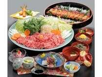 《春》よくばり(*^-^*)プラン◆牛しゃぶ&握り寿司食べ放題・飲み放題でお腹いっぱい大満足◆