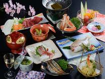 春の和会席(イメージ)旬の食材を取り入れた会席をご用意いたします。