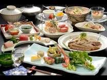 【リーズナブル】旬の食材を使い、食事の量を抑えたお得なプランです。