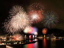【12月22日★冬花火】澄んだ夜空に1000発の花火をお部屋から贅沢に鑑賞♪