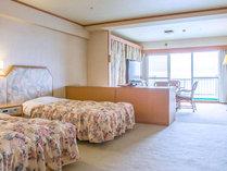 【客室】≪オーシャンフロント≫デラックス洋室50㎡ 6~8F