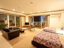 生まれ変わった100平米のジャグジー付きのお部屋で、素敵な沖縄時間をお過ごし下さいませ。