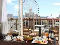 【令和元年8月リニューアル】お部屋食スタイルの朝ごはんで優雅なモーニングタイムをお楽しみ下さい。