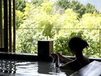 誰にも邪魔されずに温泉を満喫~客室専用の露天風呂