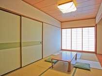 【和室】畳7.5帖お風呂・トイレが分かれているから、大人数でも混みあわない♪