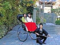 人力車で古都鎌倉を散策!