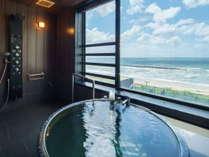 展望風呂付特別室  展望風呂より