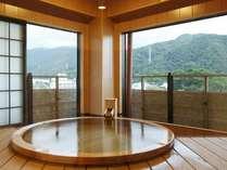 平成24年6月完成! 最上階特別室 ゆめうつつ 露天風呂