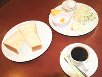 朝食になります。