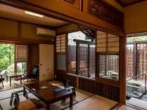 14帖の露天風呂付き客室[竹の間]