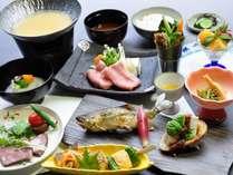 【じゃらん夏SALE】にし阿波の食材を愉しむ 旬の味覚を満喫 郷土料理堪能プラン!!