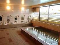 大浴室。ゆっくり・ゆったりとご利用下さい。