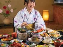 <愛知県民限定>当館一番人気の夕食お部屋食プランを特別価格にて!日頃の感謝プラン