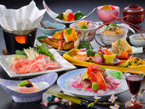 *紅梅会席/四季折々の旬の素材を用いた会席料理