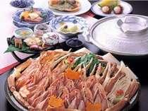 [[大鍋かにすきプラン]]蟹お一人様たっぷり一杯♪〆の蟹雑炊付き☆【朝夕部屋食】