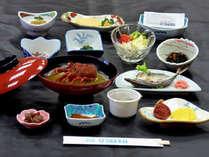 朝食(イメージ)伊勢えびが入った伊勢海老汁が人気です。
