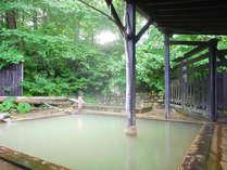 【露天風呂】自家源泉掛け流し100%天然温泉!