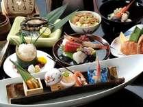 「花特膳」新鮮魚介を中心とした和食会席膳でちょっと贅沢に。