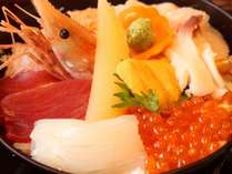 北海道が詰まった海鮮丼♪お子様も歓迎♪