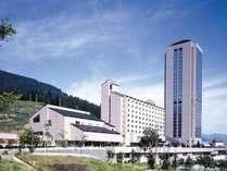 ホテル外観。一番高い建物『ナスパガーデンタワー』内に当宿泊施設は、ございます。
