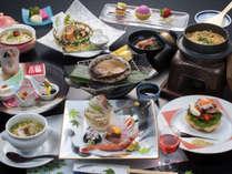 *≪5~6月≫特大アワビの踊り焼き満喫コースプラン(食事一例)