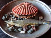 【みさき会席】姿造り!長太郎貝の陶板焼き/黒潮豪快鍋/いおめし付きプラン