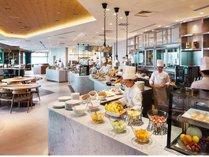 朝食は20階サザンタワーダイニングにて、洋食ブッフェをお楽しみください。