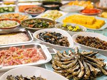 【朝食バイキング】朝は豊富な食材から自由にお選びいただきお食事をお楽しみください