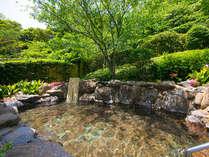 【玄海さつき温泉】露天岩風呂:弱アルカリ性単純泉