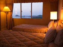 【上層階客室の一例】全館WiFi完備☆玄海さつき温泉で湯ったりとお寛ぎくださいませ。