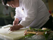 日本料理料理長 内田達也