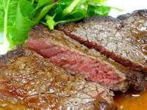 ビーフスーテキ食べ放題プラン!好きなだけお肉を頬張れる幸せ♪【1泊夕・朝食付】