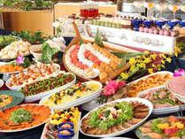 【ディナーバイキング】寿司・ステーキ・天ぷらなど、お好きなものをお腹いっぱい召し上がれ♪
