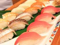 【ディナーバイキング】美味しいお寿司も食べ放題!/イメージ